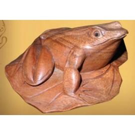 """Фигура """"Лягушка на листке"""" FLf-001"""
