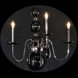 Светильник настенный MB8048-3AB ILLUMINATI черный