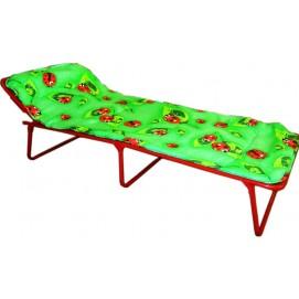 Кровать металлическая раскладная «Юниор» мягкая