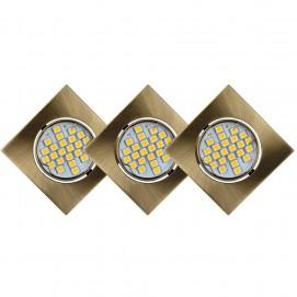Светильник встраиваемый 11002/12/03 FOCUS Lucide бронза