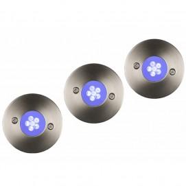 Светильник встраиваемый  11862/23/35 TRIO LED-SET  Lucide хром