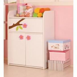 Комод пеленатор 121344 Teddy pink