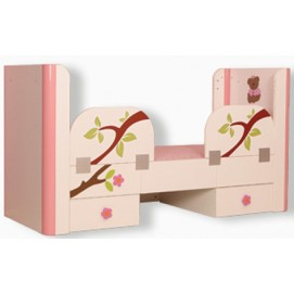 Защитная боковина 122320 Teddy pink