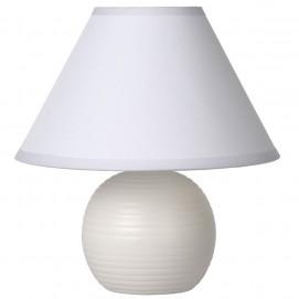Лампа настольная 14550/81/31 KADDY Lucide белая