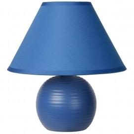 Лампа настольная 14550/81/35 KADDY Lucide синяя