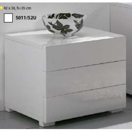 Комод 52U/5011 белый Zijlstra