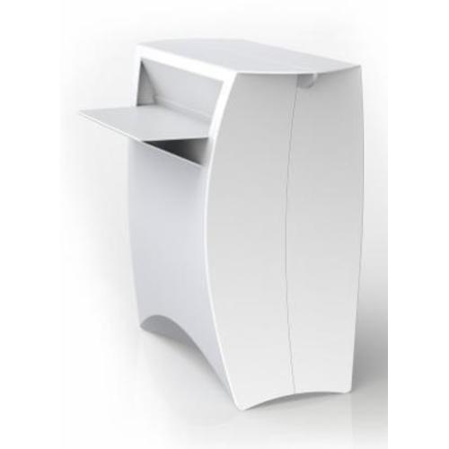 Бар/Прилавок Flux counter цвет: белый