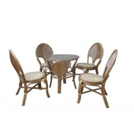 Комплект мебели LEAF dining set cruzo