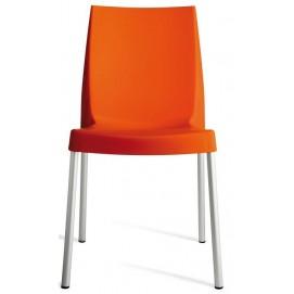 Стул BOULEVARD ORANGE S3340A оранжевый GRANDSOLEIL