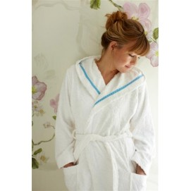 Халат PiP's Classic Bathrobe white XXS-Xl
