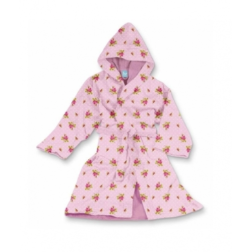 Халат Roses and Dots  pink XXS-Xl