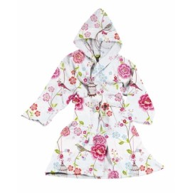 Халат Birds in Paradise bathrobe white XXS-Xl