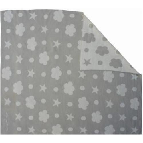 Одеяло хлопковое Grey/ White BLC5