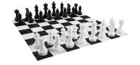 Огромные садовые шахматы