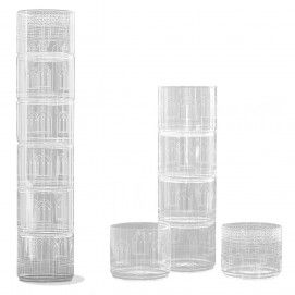 Набор посуды Torre Chiara Drinking Glasses  8008215105970 Seletti