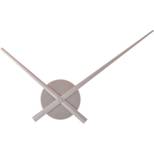 Часы стрелки Diy, серебряные Ø 62 см Clock